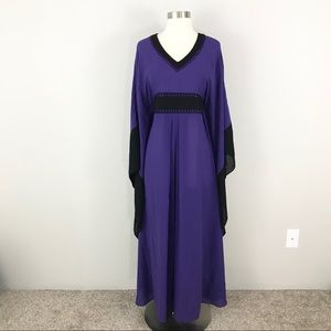 Rachel Zoe Small Kimono Maxi Dress Gown